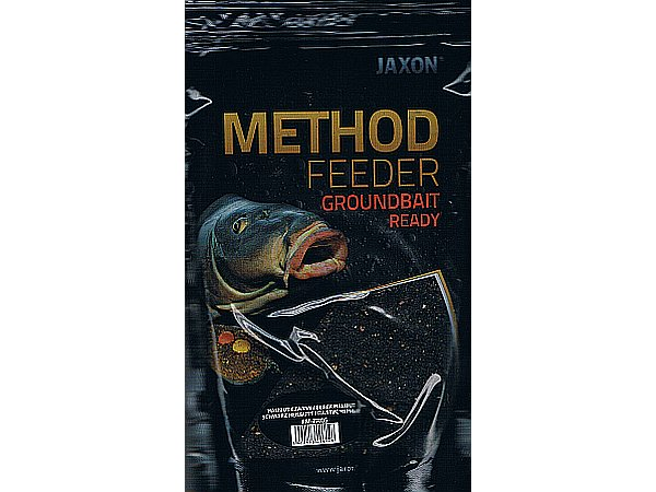 Zanęta Jaxon Method Feeder HALIBUT CZARNY 0,75 kg